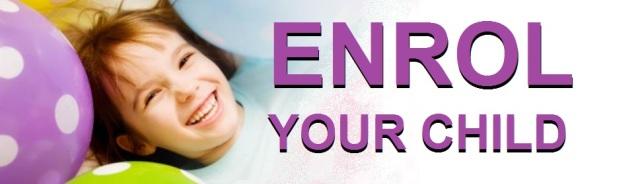Enrol your child header